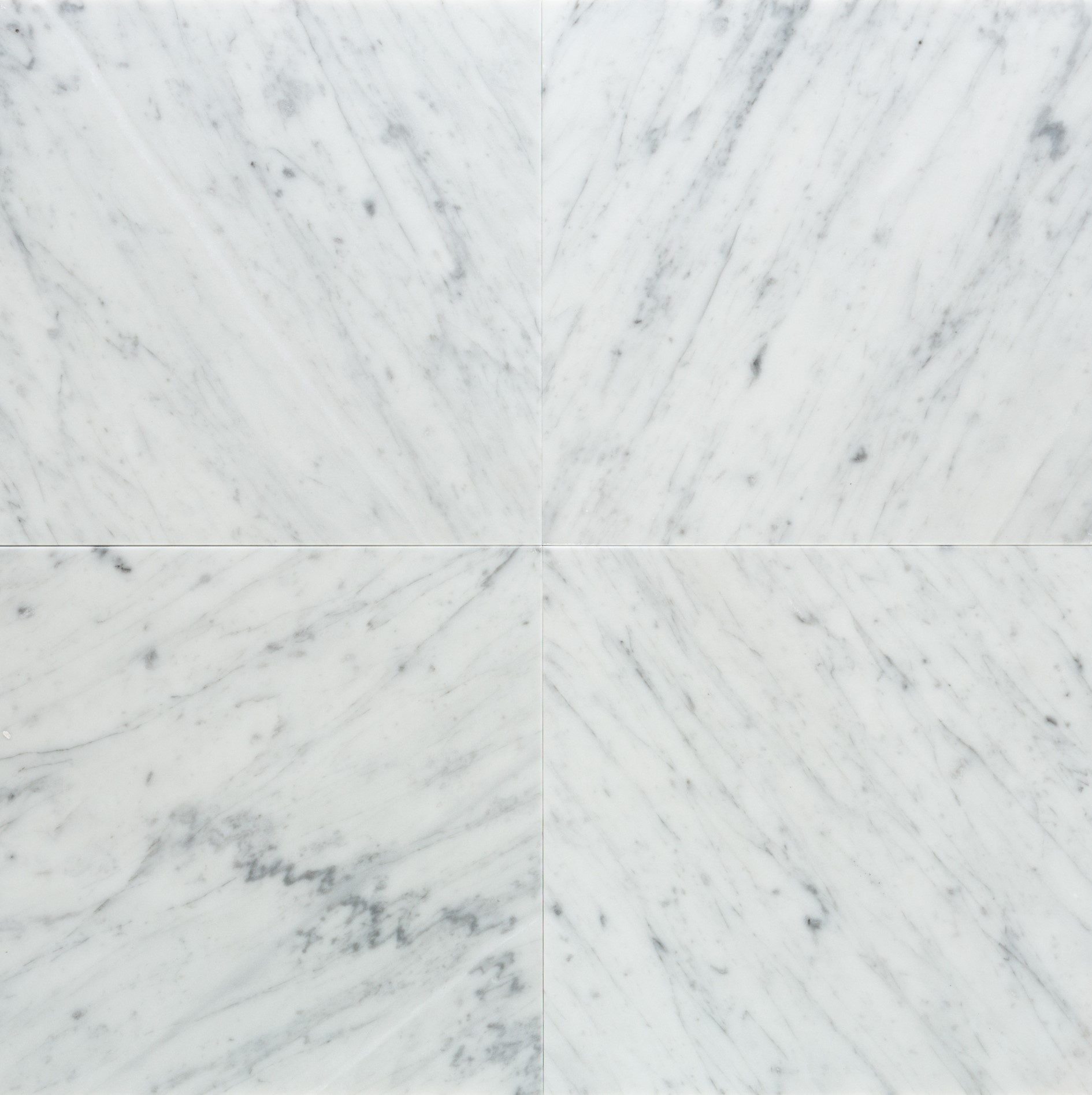 White Carrara Honed Marble Sita Tile Distributors Inc